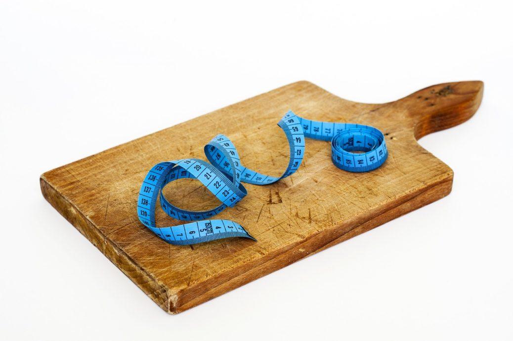 Darstellung Abnehmen durch Diäten